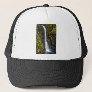 Lower Butte Creek Falls in Fall Season Trucker Hat
