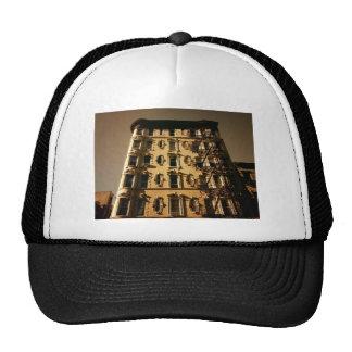 Lower East Side Building Mesh Hats