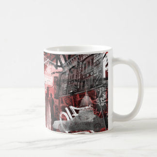 Lower East Side Collage Mug