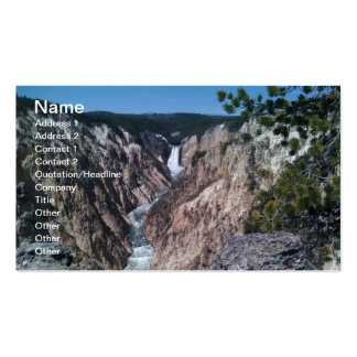 Lower Falls Business Cards