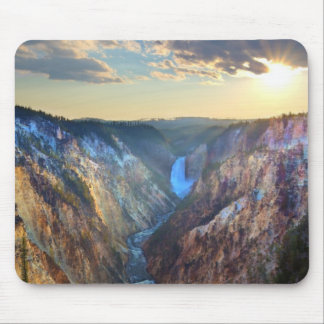 Lower Falls from Artist's Point Mouse Pad