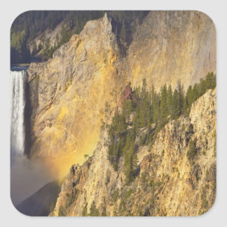 Lower Falls in the Grand Canyon of the Square Sticker