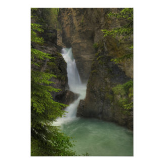 Lower falls, Johnston Canyon Poster