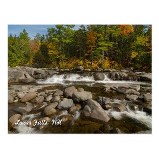 Lower Falls, NH   Postcard