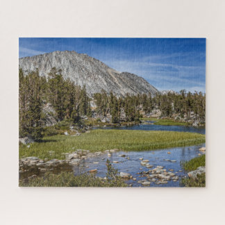 Lower Gem Lakes, Little Lakes Valley Jigsaw Puzzle