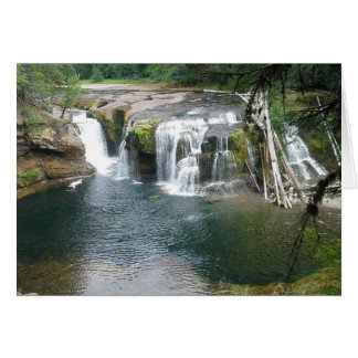 Lower Lewis River Falls Card