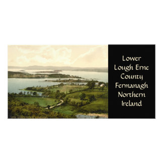 Lower Lough Erne Customised Photo Card