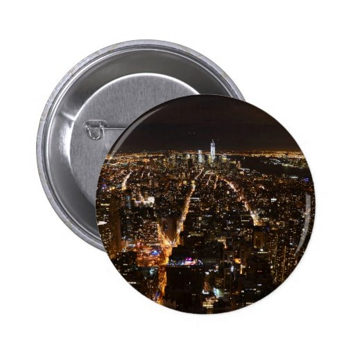 Lower Manhattan AT night from the Empire Button