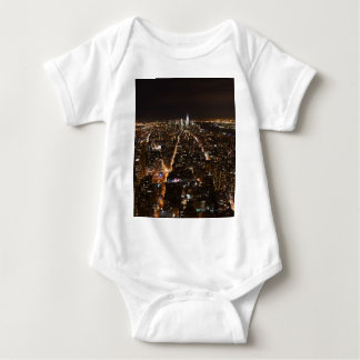 Lower Manhattan AT night from the Empire T-shirt