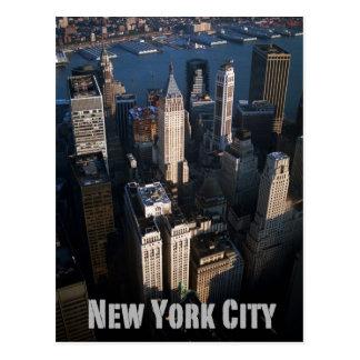 Lower-Manhattan New York City Postcard