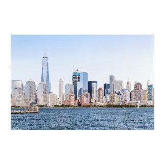 Lower Manhattan Skyline 2 Acrylic Wall Art