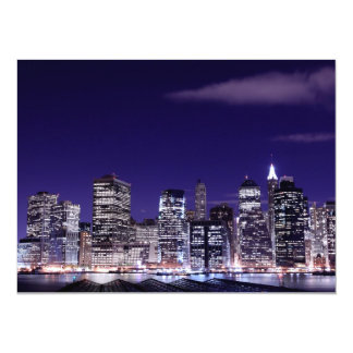 Lower Manhattan Skyline, New York City Card
