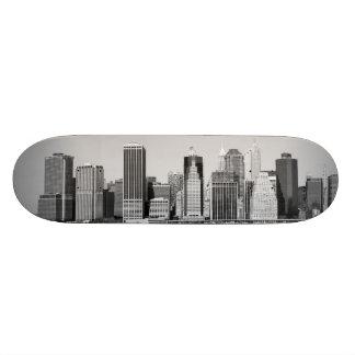 lower Manhattan Skyline, New York City Skateboards