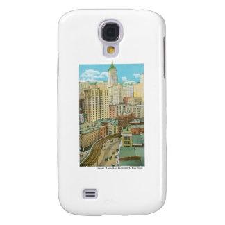 Lower Manhattan Skyscrapers, New York Samsung Galaxy S4 Cases