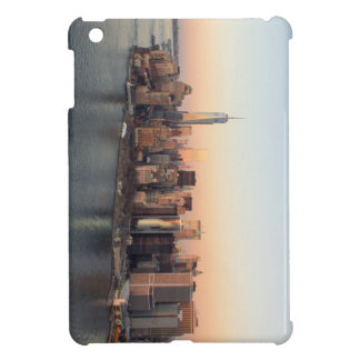 Lower Manhattan Sunset WTC Freedom Tower NYC iPad Mini Case