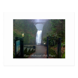 Lower Multnomah Falls, Oregon - Postcard