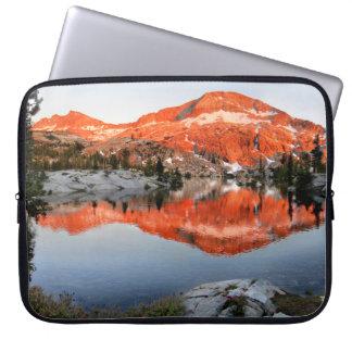 Lower Ottoway Lake Sunset - Yosemite Laptop Sleeve