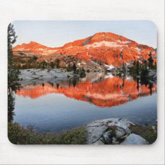 Lower Ottoway Lake Sunset - Yosemite Mouse Pad