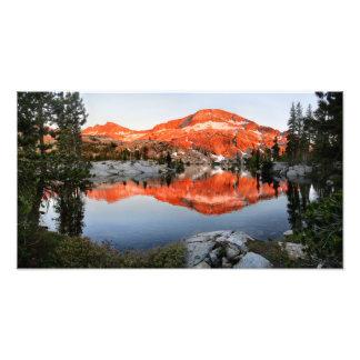 Lower Ottoway Lake Sunset - Yosemite Photo Print