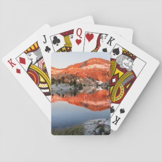 Lower Ottoway Lake Sunset - Yosemite Playing Cards