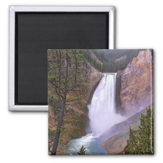 Lower Yellowstone Falls, Grand Canyon of Square Magnet