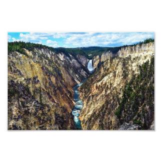 Lower Yellowstone Falls, Yellowstone National Park Photo Print