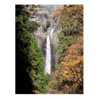 Lower Yosemite Falls in November Postcard