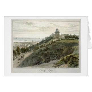 Lowestoft, Suffolk, from 'A Voyage Around Great Br Card