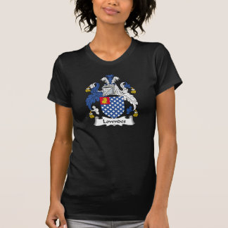 Lowndes Family Crest T-shirt