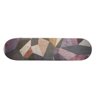 Lowpoly pattern 21.6 cm skateboard deck