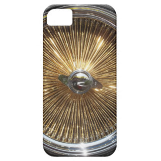 Lowrider Gold Wire Wheels Smartphone Cover