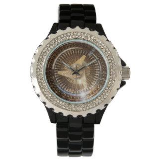 Lowrider Gold Wire Wheels Watch