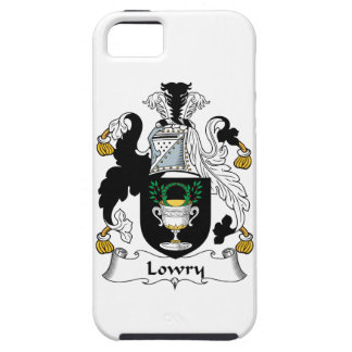 Lowry Family Crest iPhone 5 Cases