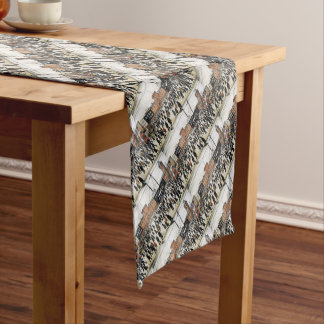 lowry going to work design short table runner