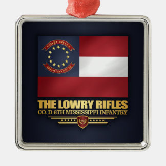 Lowry Rifles Metal Ornament