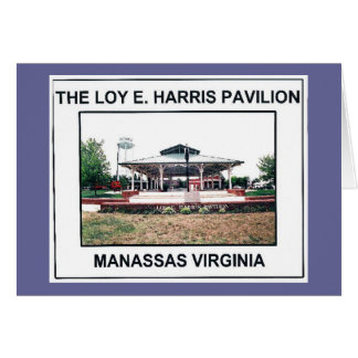 LOY E. HARRIS PAVILION 3 - Customized Card