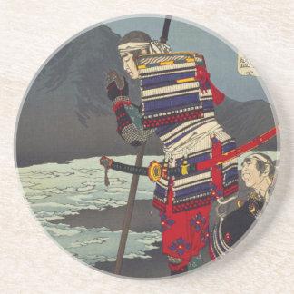 Loyal Samu - Tsukioka Yoshitosh Coaster