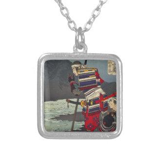 Loyal Samu - Tsukioka Yoshitosh Silver Plated Necklace
