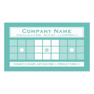 LOYALTY 4dots (color customizable) Pack Of Standard Business Cards