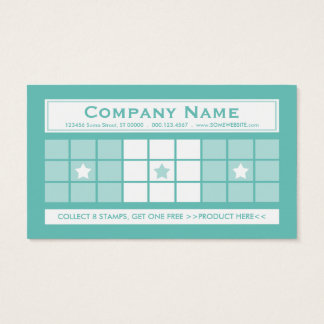 LOYALTY 4dots (color customizable) Business Card
