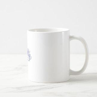 LOYALTY CALLIGRAPHY COFFEE MUG