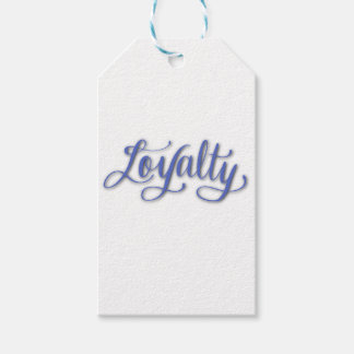 LOYALTY CALLIGRAPHY GIFT TAGS