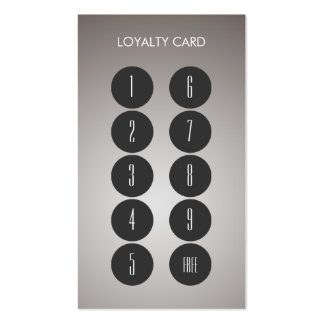 Loyalty Punch Business Card