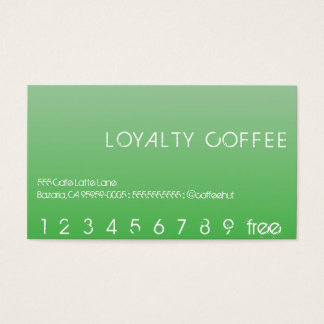 Loyalty Punch Card