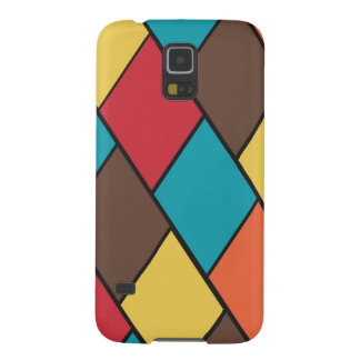 Lozenges and Tiles Pattern - Samsung Case Cases For Galaxy S5