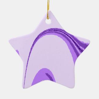 LP Flourish Design Ceramic Star Decoration