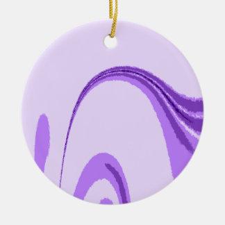LP Flourish Design Round Ceramic Decoration