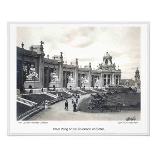LPE02 - West Wing of the Colonnade of States Photo Print