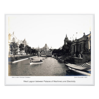 LPE03 - West Lagoon between Palaces Photo Print