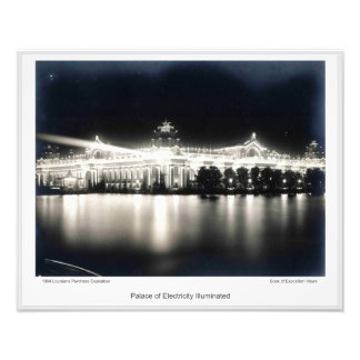 LPE06 - Palace of Electricity Illuminated Photo Print